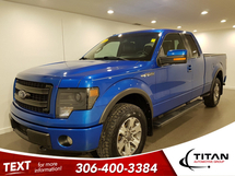 Ford F-150 FX4 SuperCab 5.0L V8 | Heated/Cooled Leather | Sony | Rims | Remote Start Inventory Image