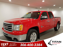 GMC Sierra 1500 SLE Z71 | 5.3L V8 | 4X4 | Crew Cab | Bluetooth | Hitch | Goodyear Wrangler Tires | Fully Inspected Inventory Image