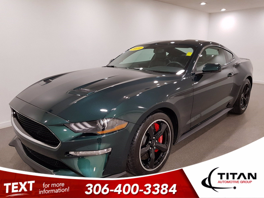 Ford Mustang BULLITT 5.0L V8 475HP| Dark Highland Green | Leather | Navigation | Brembo |Limited | B&O Audio Vehicle Details Image
