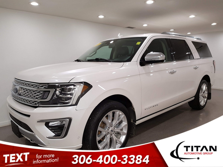 Ford Expedition Platinum Max   Leather   7 Pass   Sunroof   Navigation   B & O Audio   DVD   Remote Starter   Rims Vehicle Details Image