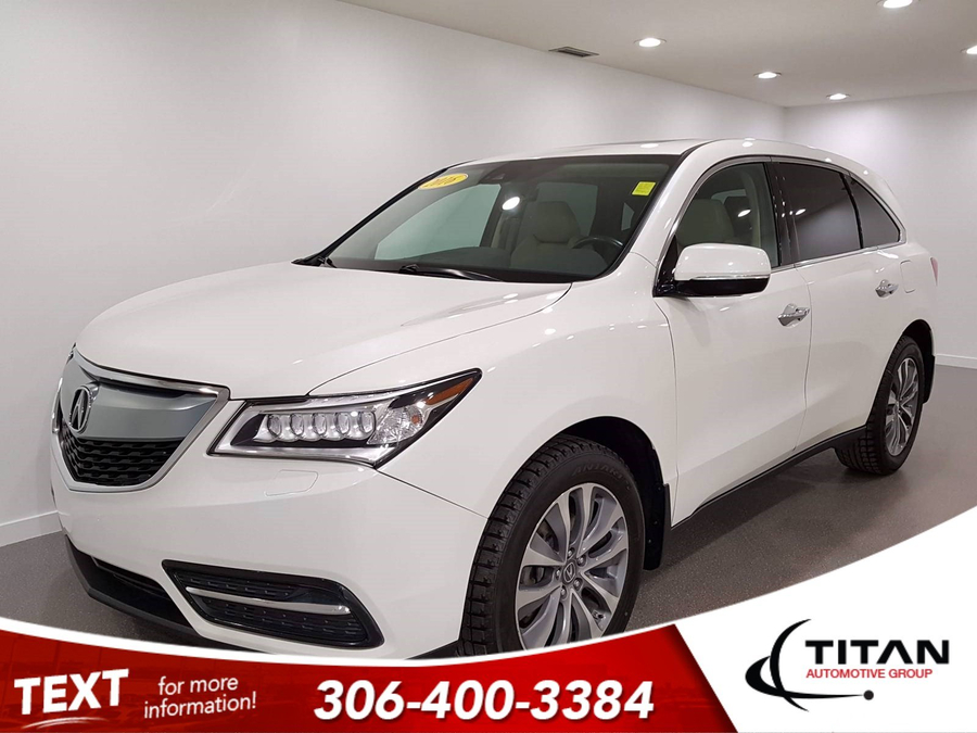 Acura Mdx V6 | SH-AWD | Sunroof | Bluetooth | CAM | Rims | NAV | Heated Leather Vehicle Details Image