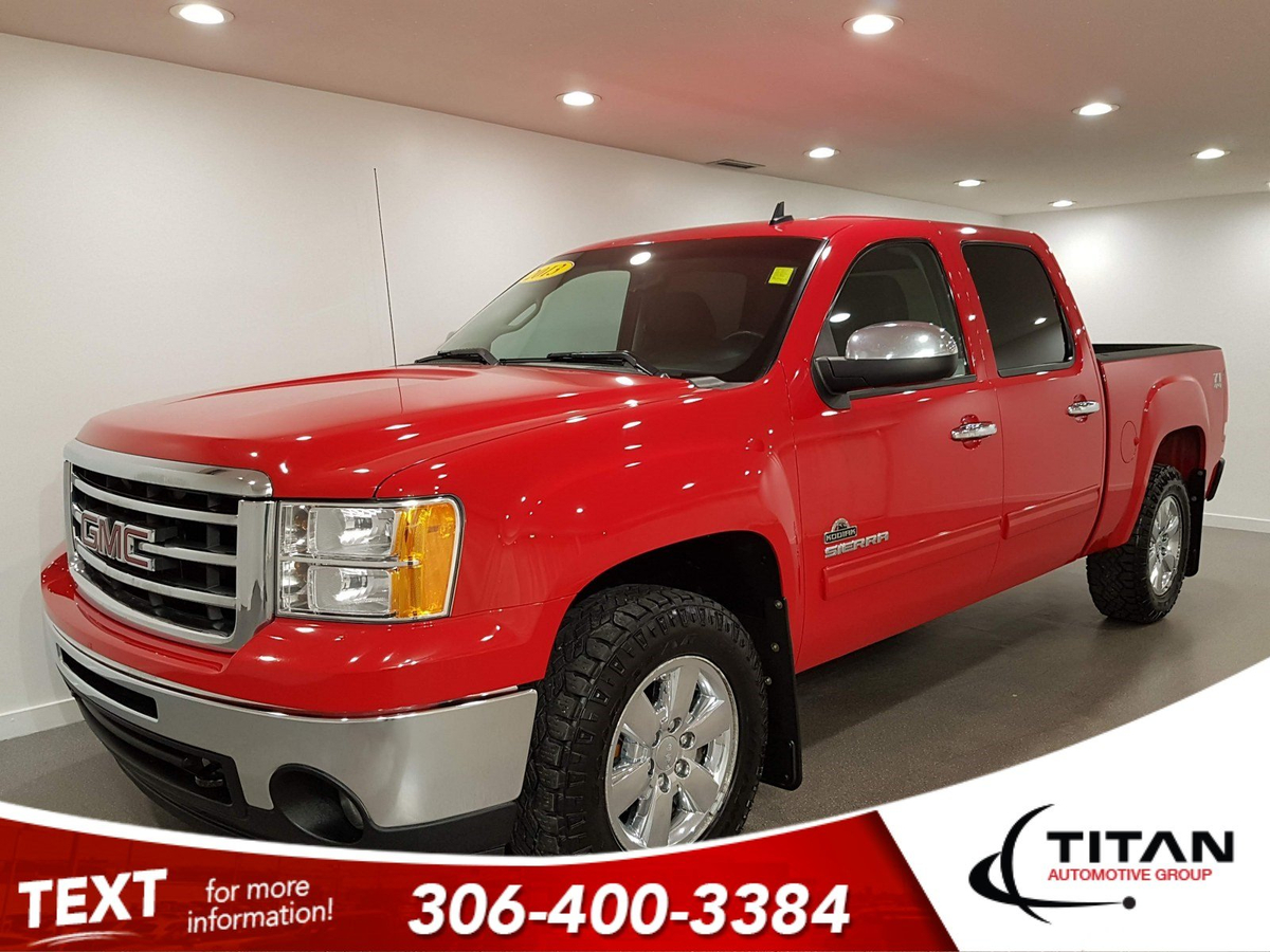 Gmc Sierra 1500 SLE Z71 | 5.3L V8 | 4X4 | Crew Cab | Bluetooth | Hitch | Goodyear Wrangler Tires | Fully Inspected Vehicle Details Image