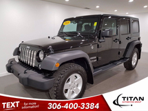 Jeep Wrangler Unlimited Sport | 4x4 | ONLY 913KM | Bluetooth | Heated Seats |Power Package | Removable Hardtop Inventory Image