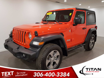 Jeep Wrangler JLSport 4x4 | CAM | Alloys | Bluetooth | Orange | Cam | Power Package | Local Inventory Image