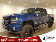 Chevrolet Silverado 1500 LTZ Crew Cab V8 | Leather | Sunroof | Nav | Lift | Rims | Flares | Aftermarket Tires | Bose Inventory Image