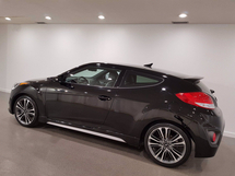Hyundai Veloster Turbo | Heated Leather | Sunroof | Dimensions Audio | Bluetooth | Navigation | Rims Inventory Image