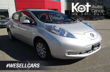 Nissan LEAF SV! EV! NO MORE GAS! LOW KMS! VERY CLEAN UNIT! RARE UNIT! Inventory Image