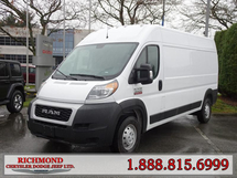 """RAM ProMaster Cargo 3500 High Roof 159"""" WB Cargo Inventory Image"""