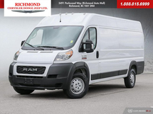 """RAM ProMaster Cargo 3500 High Roof EXT 159"""" WB Cargo Inventory Image"""