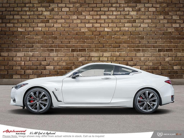 INFINITI Q60 Red Sport I-LINE Vehicle Details Image