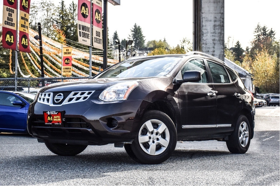 Nissan Rogue S AWD Vehicle Details Image