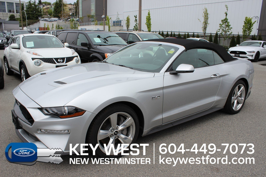 Ford Mustang GT Premium Convertible Safe & Smart Pkg Leather Na Vehicle Details Image
