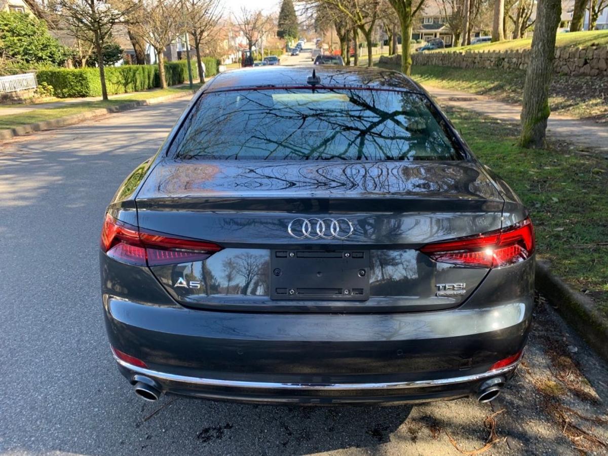 Audi A5 Vehicle Details Image