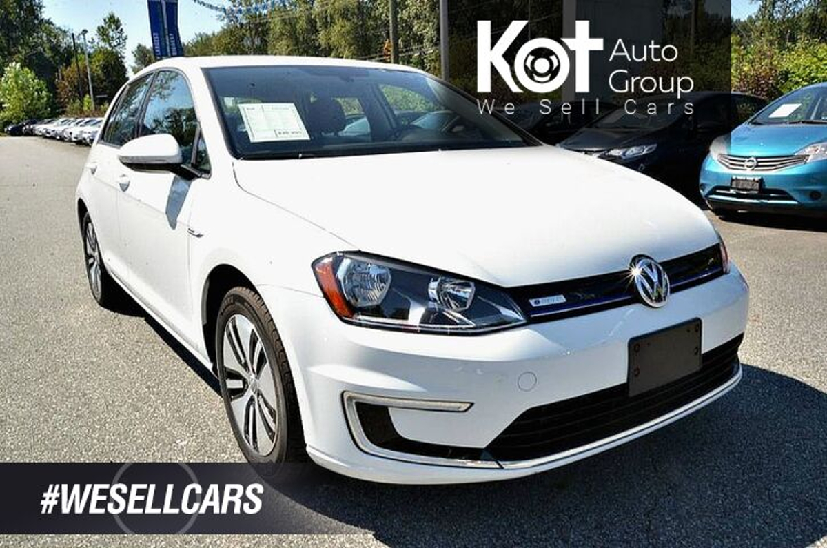 Volkswagen Golf SE. Electric! Low KMS! No Accidents! Backup Cam! Vehicle Details Image