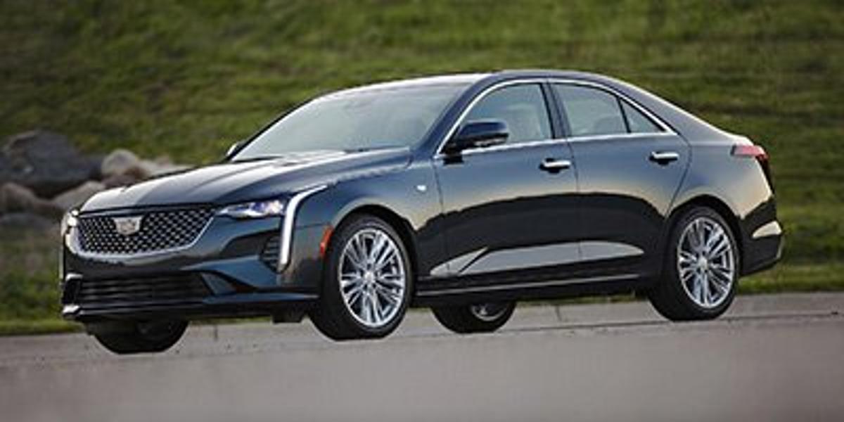 Cadillac CT4 Premium Luxury Vehicle Details Image