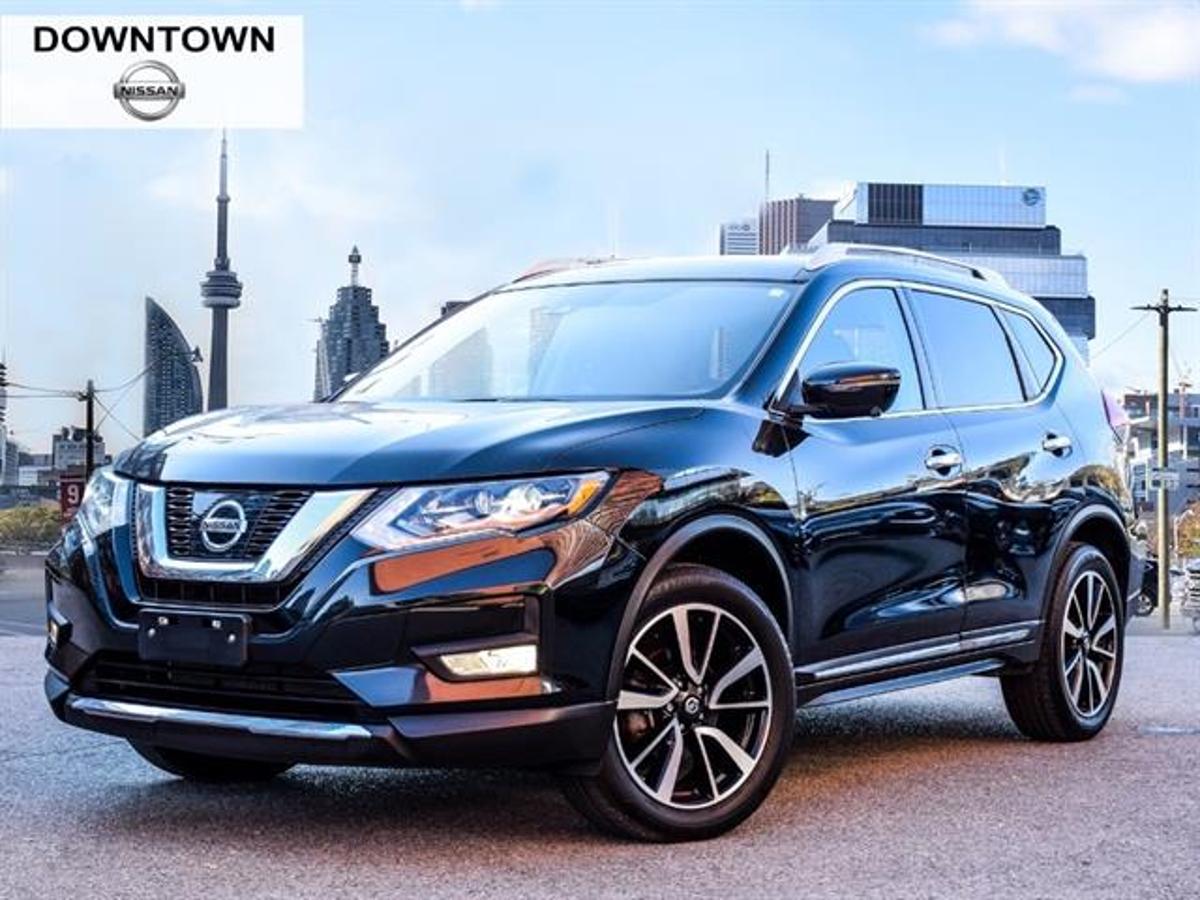 Nissan Rogue SL Platinum Vehicle Details Image