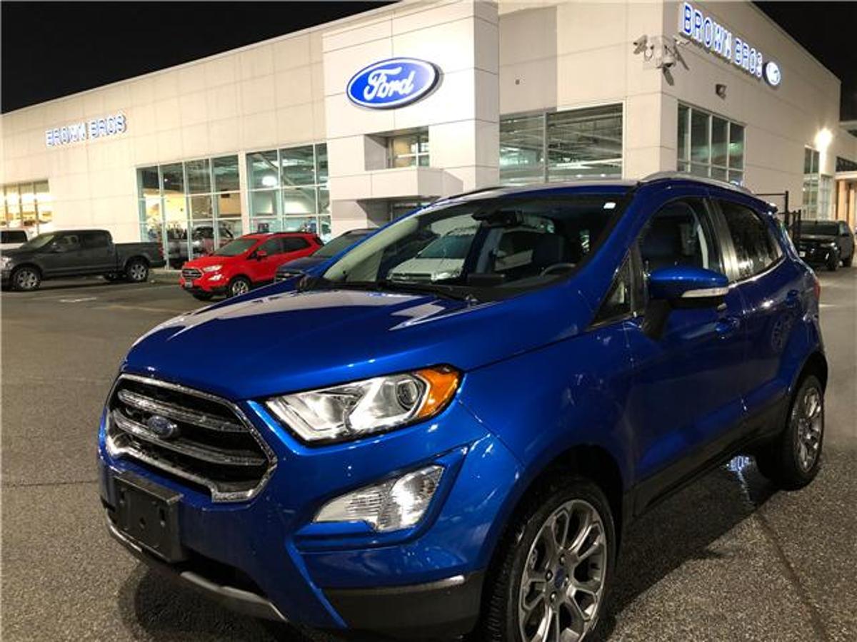 Ford EcoSport Titanium Vehicle Details Image