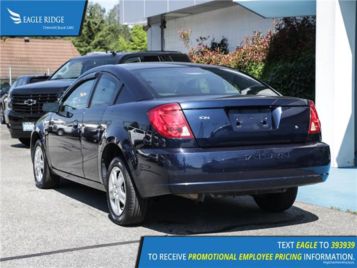 Saturn Ion Vehicle Details Image