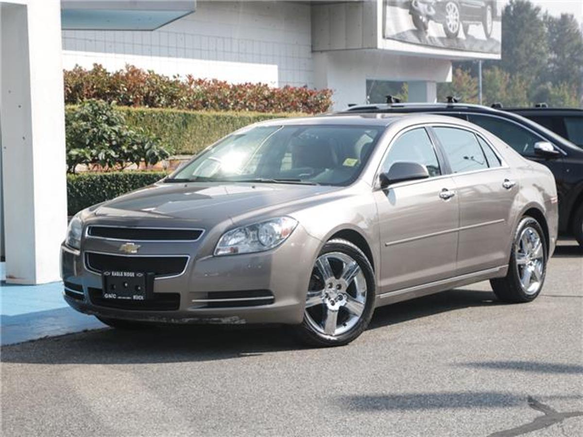 Chevrolet Malibu LT Platinum Edition Vehicle Details Image