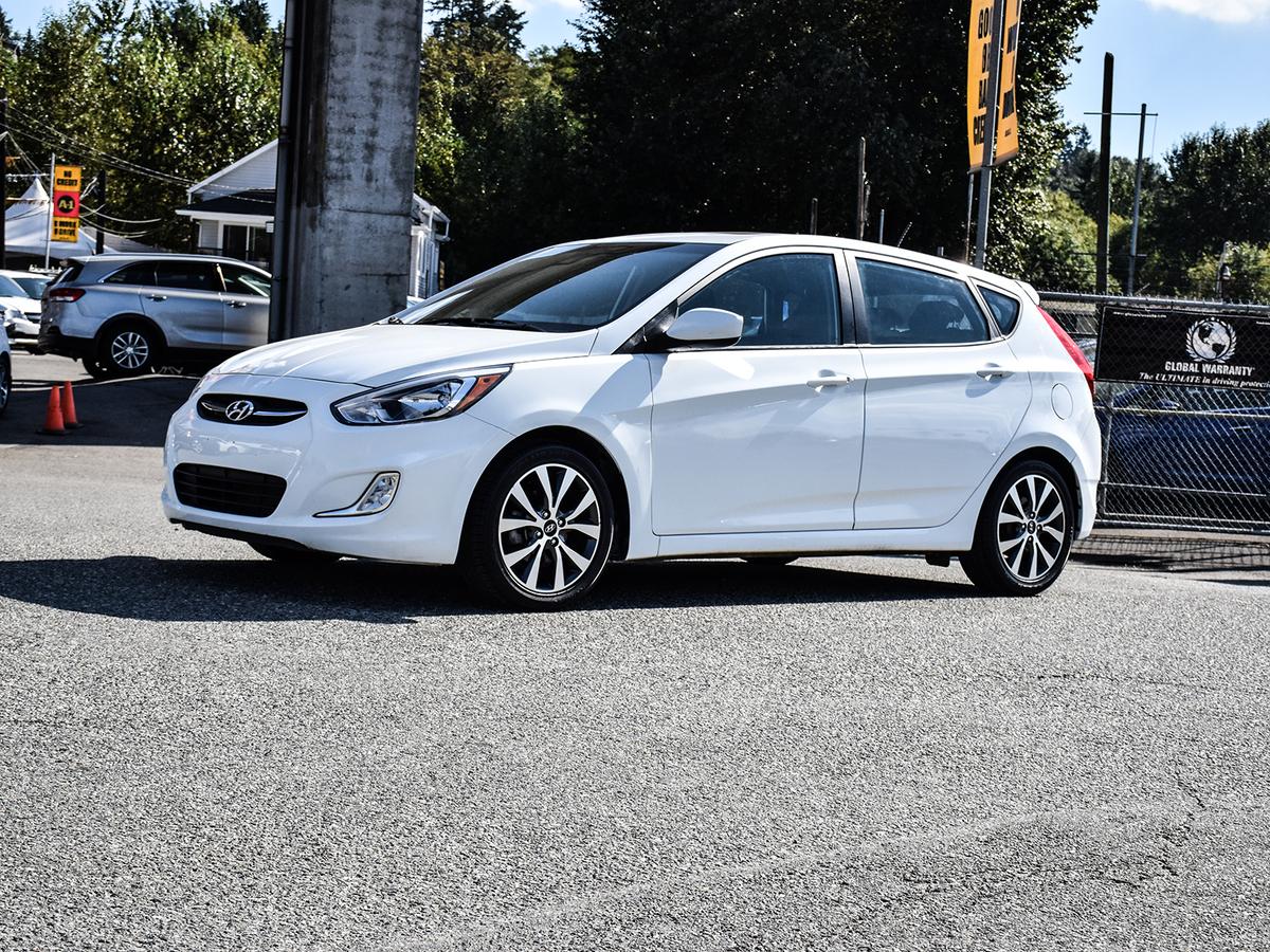 Hyundai Accent SE 5-Door 6A Vehicle Details Image