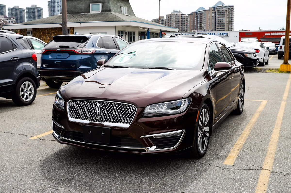 Lincoln MKZ Reserve Hybrid Sunroof Leather Nav Cam Heated Seat Vehicle Details Image
